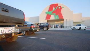 Ouverture d'un Auchan à Houston (MAXPPP)