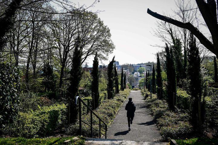 Les jardins de laCité de la Butte Rouge  (Philippe LOPEZ / AFP)