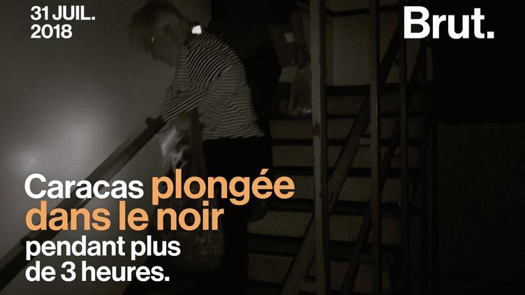 VIDEO. Au Venezuela, une coupure d'électricité géante a paralysé Caracas (BRUT)