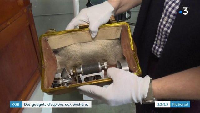 Histoire : une vente aux enchères d'objets du KGB va avoir lieu en Californie