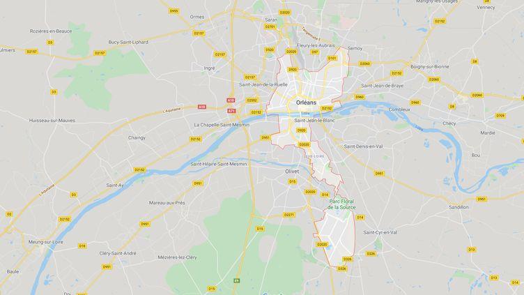 À Orléans la liste commune de la France insoumise et du Parti animaliste a été invalidée par la préfecture en raison de plusieurs irrégularités. (GOOGLE MAPS)