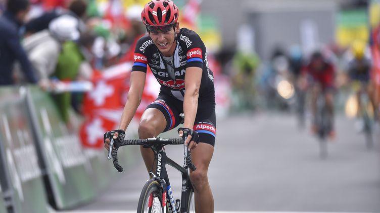 Warren Barguil, l'un des hommes en forme de ce Tour de Suisse.  (DE WAELE TIM / TDWSPORT SARL)