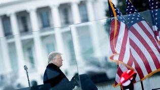 Donald Trump, le 6 janvier 2020. (BRENDAN SMIALOWSKI / AFP)