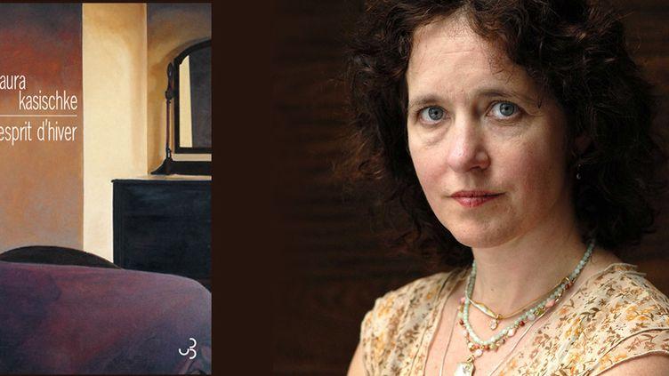 """La romancière Laura Kasischke, lauréate du 45e Grand Prix des lectrices de Elle pour """"Esprit d'hiver"""" (Christian Bourgois)  (ANDERSEN ULF/SIPA)"""