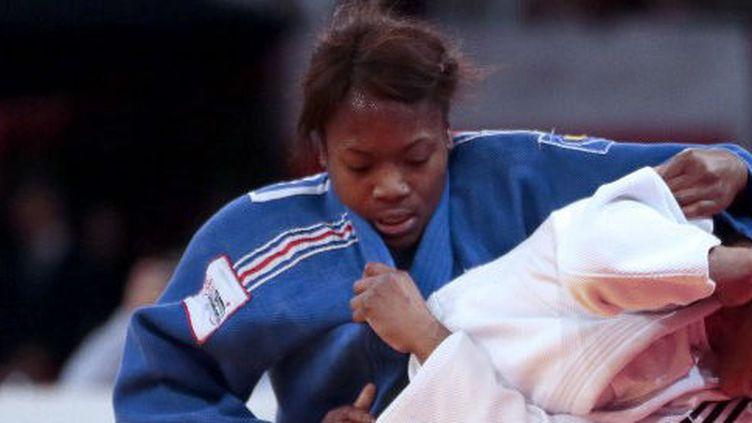La jeune judokate française Clarisse Agbegnenou
