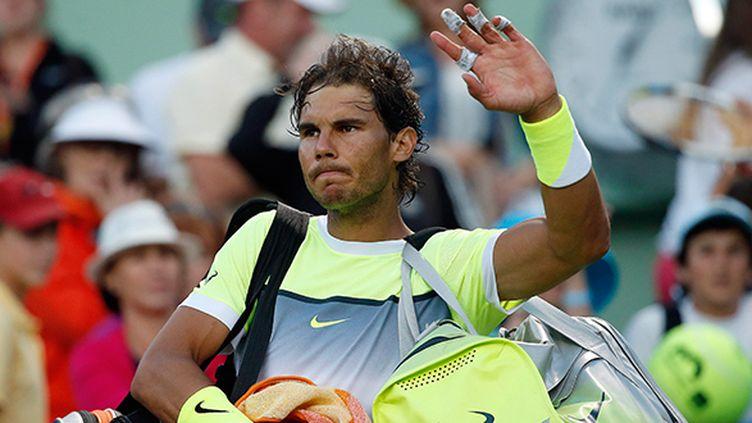 L'Espagnol Rafael Nadal