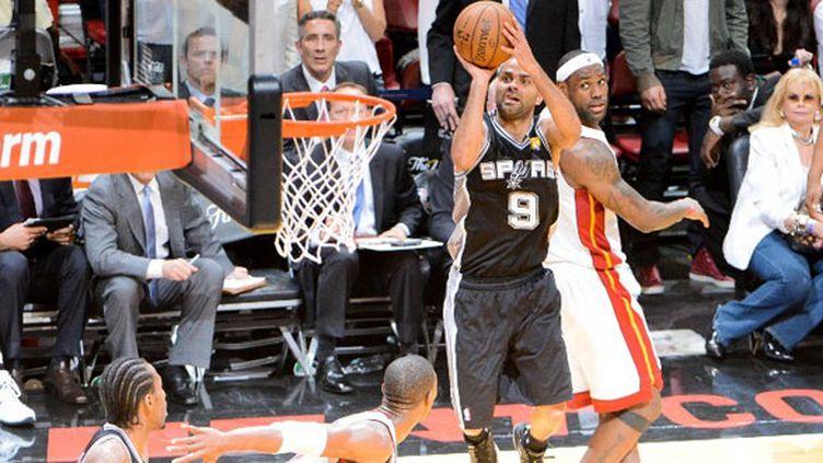Le meneur des San Antonio Spurs Tony Parker