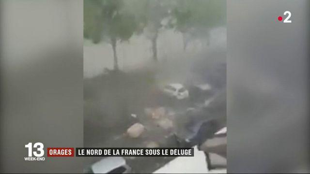 Orages : le nord de la France sous le déluge