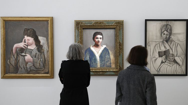 Exposition Olga Picasso, 21 mars 2017  (YOAN VALAT/EPA/MaxPPP)