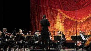 Chaque année, le 14 juillet, l'opéra de Paris organise une représentation gratuite. Cette anné le Palais Garnier a choisi de rendre hommage, à sa façon, au personnel soignant. (France 2)