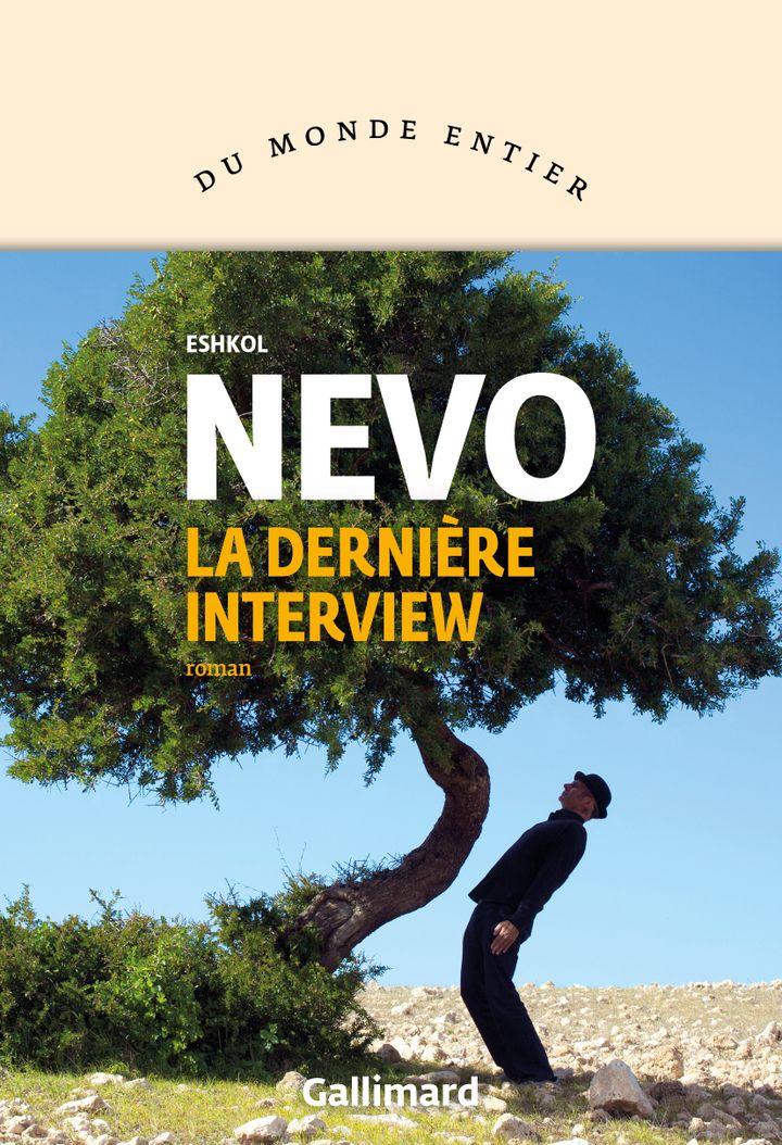 """Couverture de """"La dernière interview"""", d'Eshkol Nevo (Editions Gallimard)"""