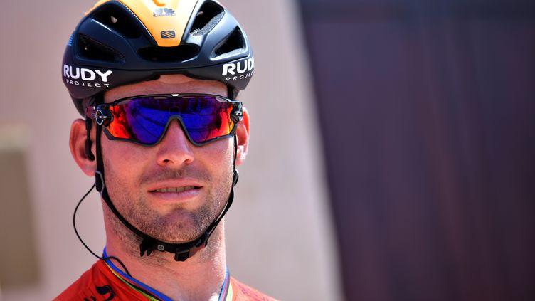Le sprinteur britannique Mark Cavendish (GIUSEPPE CACACE / AFP)