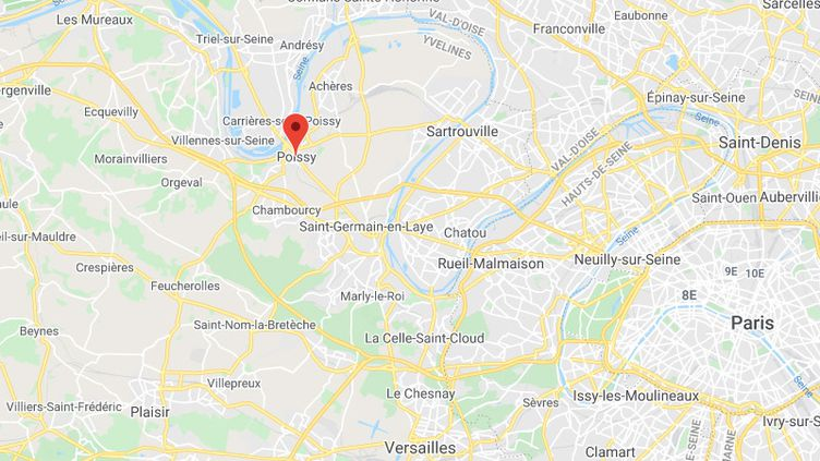 Poissy (Yvelines). (GOOGLE MAPS)