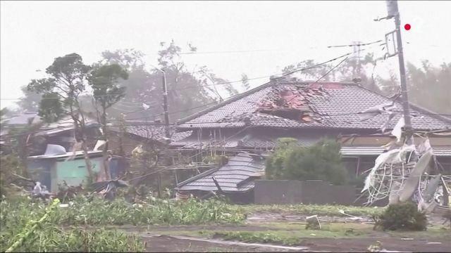 Japon : le typhon Hagibis fait plus de 20 morts et de nombreux disparus