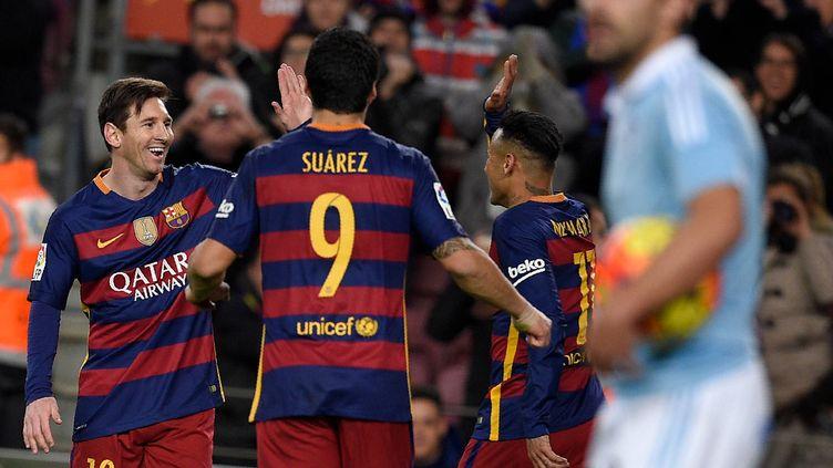 MSN, le trio magique du Barça Messi - Suarez - Neymar