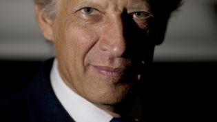 Dominique de Villepin, ancien Premier ministre, à Paris, le 13 septembre 2013. (JOEL SAGET / AFP)
