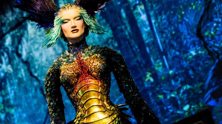 """Expo """"Thierry Mugler: Couturissime"""", février 2019  (MARTIN OUELLET-DIOTTE / MARTIN OUELLET-DIOTTE / AFP / AFP)"""