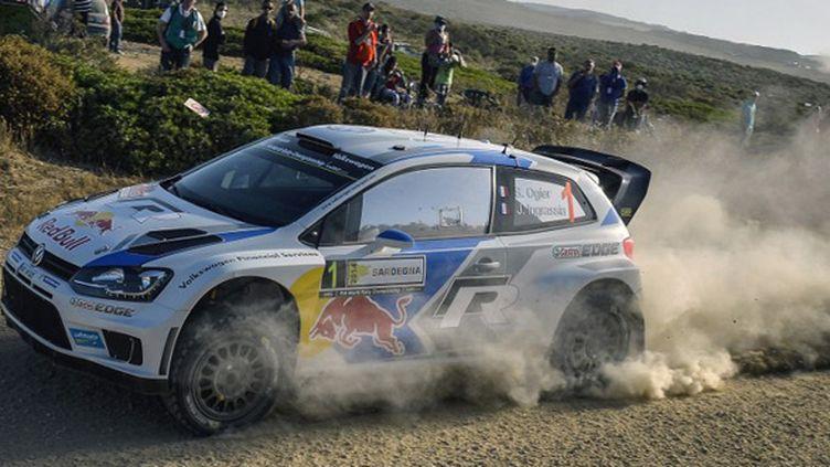 Sébastien Ogier (Rallye de Sardaigne) (ANDREAS SOLARO / AFP)