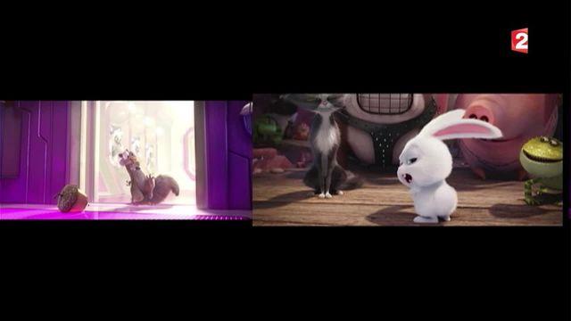 Cinéma : duel d'animaux animés