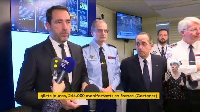 """Mobilisation des """"gilets jaunes"""" : le bilan du ministère de l'Intérieur"""