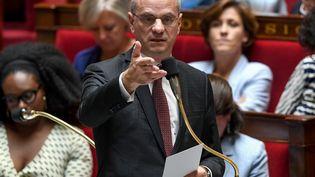 Le ministre de l'Education nationale, Jean-Michel Blanquer, le 3 juillet 2019 à l'Assemblée nationale. (ALAIN JOCARD / AFP)