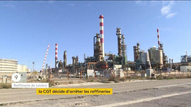 Les raffineries à l'arrêt à la demande de la CGT