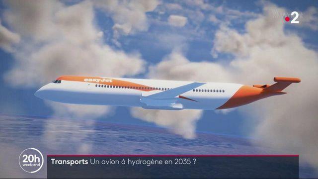 Transports du futur : la France veut un Airbus à hydrogène d'ici 2035
