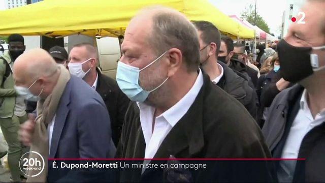 Régionales : le ministre de la Justice entre en campagne dans les Hauts-de-France