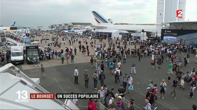 Salon du Bourget : un succès populaire
