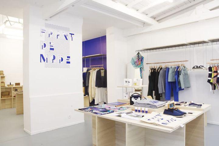 Boutique Front de Mode dans le quartier du Vertbois à Paris (PEOPLE OF VERTBOIS)