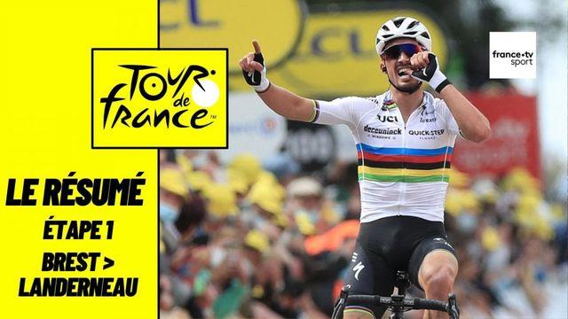 Tour de France 2021 : le résumé de l'étape 1