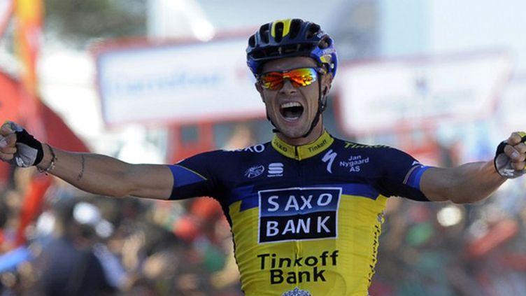 Nicolas Roche (Saxo Tinkoff). (MIGUEL RIOPA / AFP)