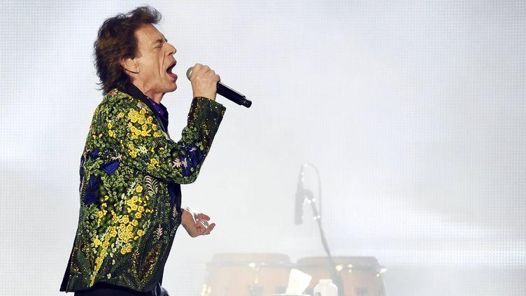 Mick Jagger en concert à Pasadena, Californie, le 22 août 2019 (CHRIS PIZZELLO/AP / SIPA)