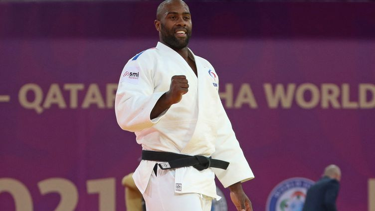 Teddy Riner va participer aux Jeux olympiques (KARIM JAAFAR / AFP)