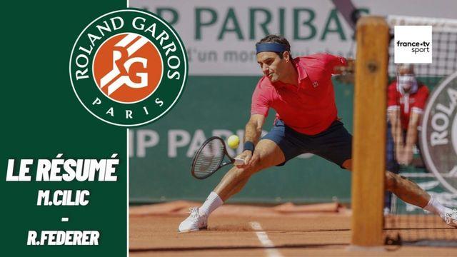 Les meilleurs moments du match Federer - Cilic
