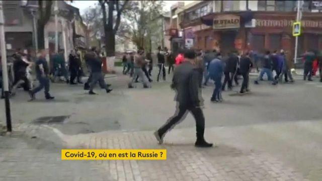 La Russie subit l'épidémie de plein fouet malgré les apparences