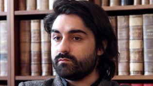 Le journaliste Fabrice Arfi va publier un livre avec la rédaction de Mediapart sur l'affaire Cahuzac (ici en avril 2012)  (Jacques Demarthon / AFP)