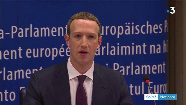 Facebook: Zuckerberg fait profil bas devant l'UE