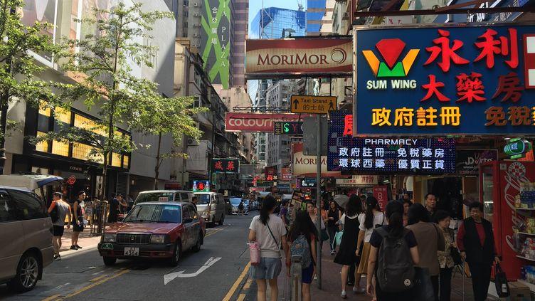 L'espace vital et et les libertés sont au centre des préoccupations de la jeune génération de Hong Kong, rétrocédée à la Chine, le1er juillet 1997. (RADIO FRANCE / DOMINIQUE ANDRE)