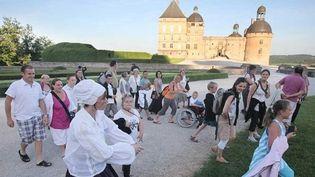 Visite guidée en costume au château de Hautefort  (DR)