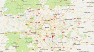 L'agression a eu lieu au petit matin dans un appartement de Villeneuve-Saint-Georges (Val-de-Marne), dimanche 2 juillet. (GOOGLE MAPS)