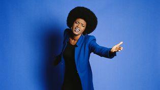 La chanteuse Christine Salem (Franck Loriou)