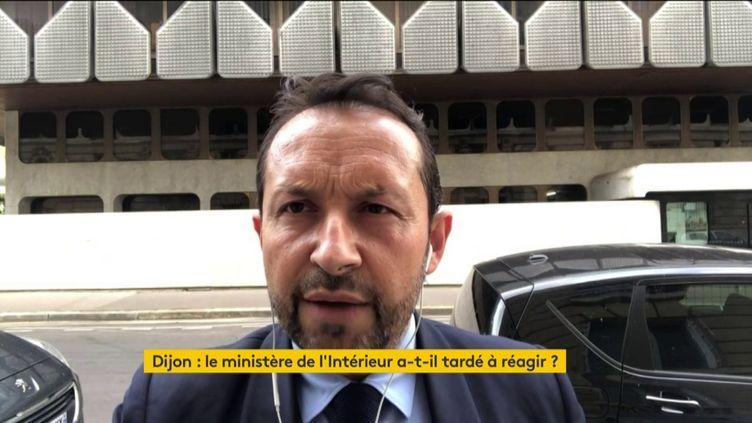 Sébastien Chenu, député Rassemblement National du Nord, et porte-parole du RN invité du 18h50 lemardi juin 2020 sur franceinfo (FRANCEINFO / RADIO FRANCE)