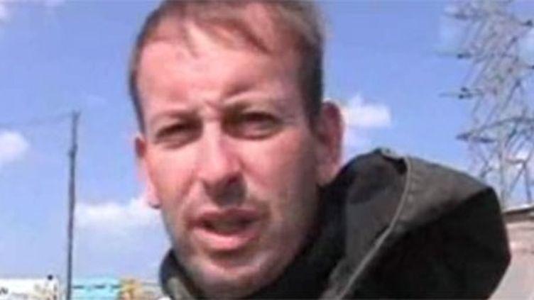 Gilles Jacquier, lors d'une de ses missions à l'étranger pour France Télévisions. (France 2)