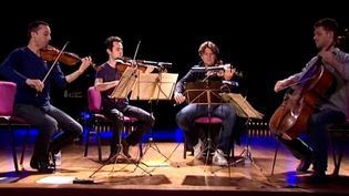 Le quatuor Ebène  (France3/culturebox)