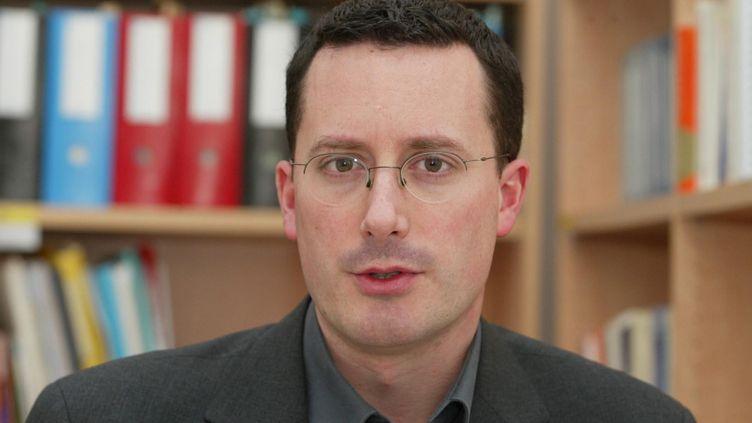 Sylvain Brouard, le 17 février 2005. (MAXPPP)