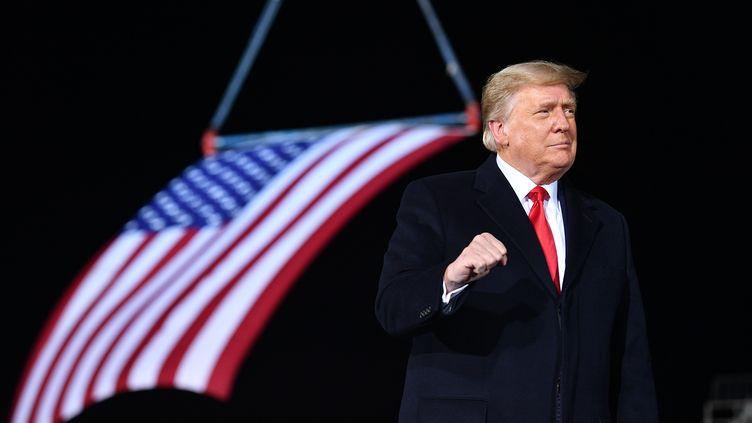 Donald Trump, le 4 janvier 2021. (MANDEL NGAN / AFP)