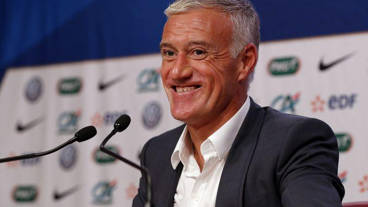 Didier Deschamps, sélectionneur de l'équipe de France (FRANCOIS GUILLOT / AFP)