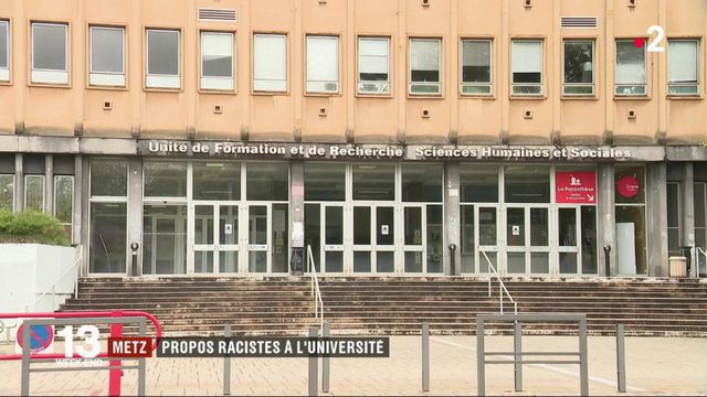 Metz : des propos racistes à l'université