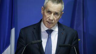 François Molins, le 3 février 2017 à Paris. (GEOFFROY VAN DER HASSELT / AFP)